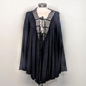 For Love & Lemons Lace Tunic Dress